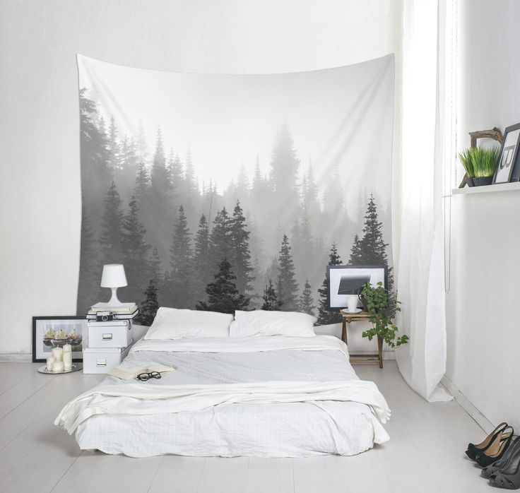Tree Tapestry Black And White Landscape Photo