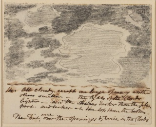John Constable. Cloud Study.