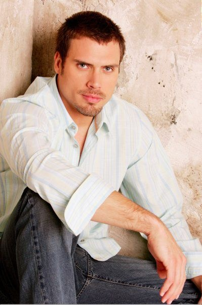 """Joshua Morrow; stars as """"Nicholas Newman"""" on the show """"The Young and the Restless."""""""