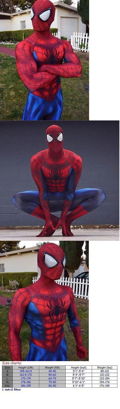 Halloween Costumes: Hot Sale Spiderman Costume Adult Halloween Cosplay Spandex Superhero Zentai Suit -> BUY IT NOW ONLY: $66.32 on eBay!