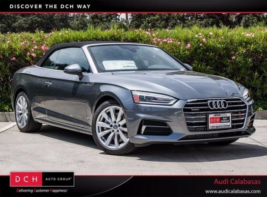 Convertible, 2018 Audi A5 2.0T Premium Cabriolet with 2 Door in Calabasas, CA (91302)