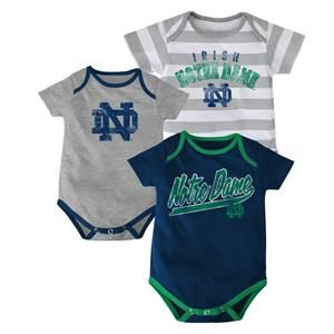 Baby Notre Dame Outfits (3-Pack)