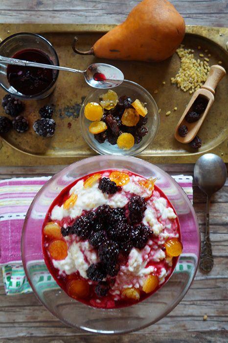bulguros desszert