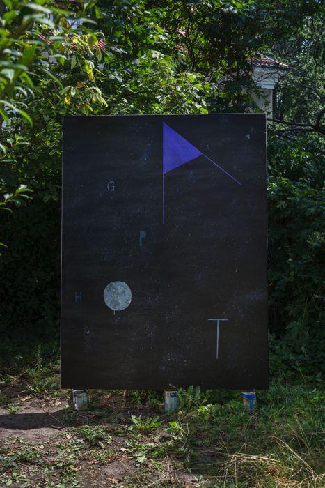 Agnieszka Brzeżańska, OPANGHT, 2015, oil on canvas, 200 × 150 cm