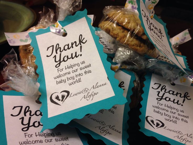 Thank You Gifts I Made For The Nurses At The Hospital When