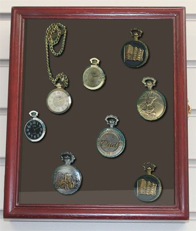 Pocket Watches Display Case