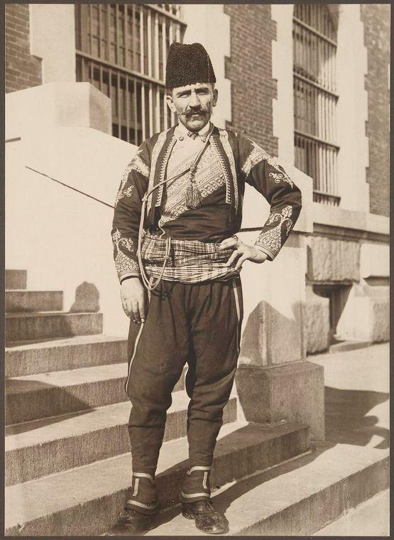 Ellis Island - Turkish man - 1912