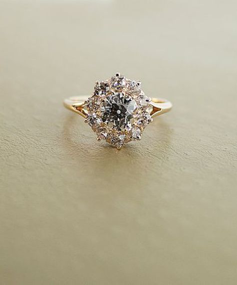 Vintage Engagement Rings We Love. - Dujour #vintageengagementrings