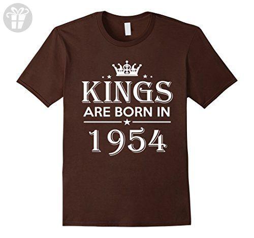 Mens 63rd Birthday Gifts Idea For Him/Men-63 Years Old King Shirt Medium Brown - Birthday shirts (*Amazon Partner-Link)