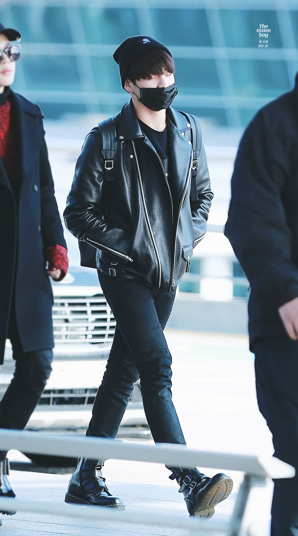 437 Best Images About Bangtan Boys (BTS) Fashion On Pinterest | Airport Fashion Kpop Fashion ...