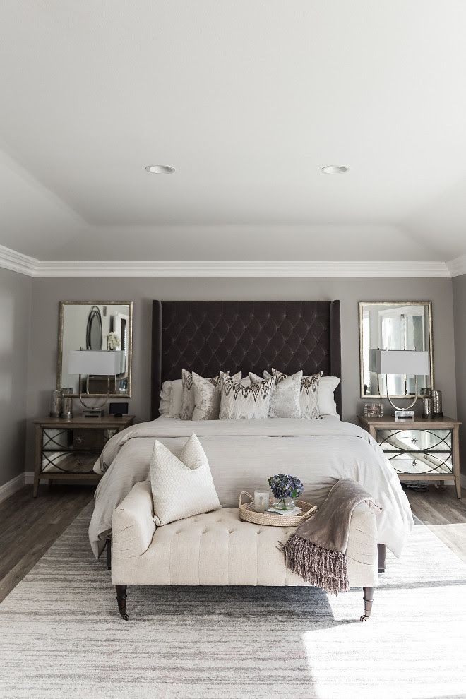 Gray Pearl By Dunn Edwards Bedroom Paint Color Gray Pearl By Dunn