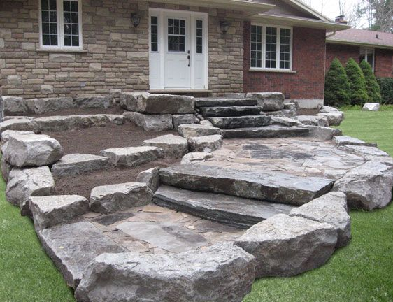 Armour Stone Surround Patio Area   Google Search