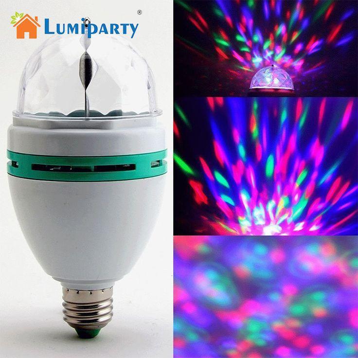 acquistare Lumiparty E27 RGB LED Lamp 3 W Colorful Magia Lampadine AC 85-265 V 1…