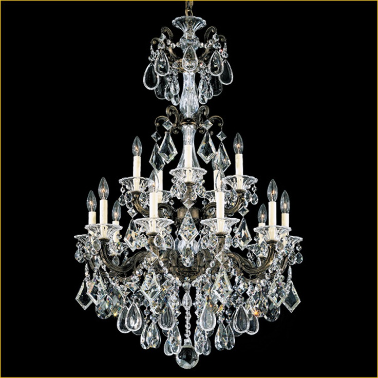 1000 Images About Crystal Chandeliers On Pinterest