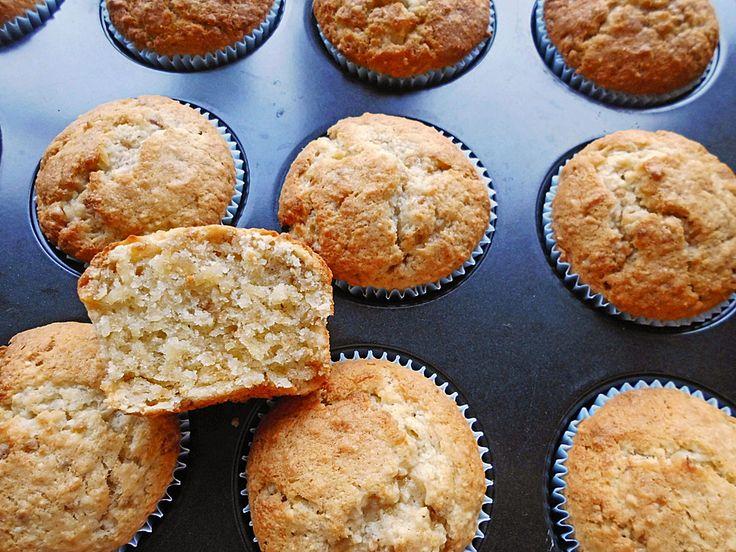 Fast Banana Nut Muffins, ein raffiniertes Rezept aus der Kategorie Backen ….   – Rezepte
