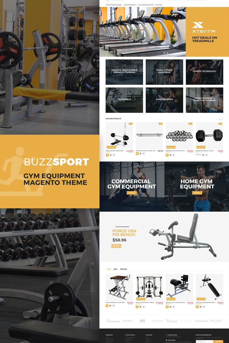 BuzzSport - Gym Equipment Magento 2 Theme