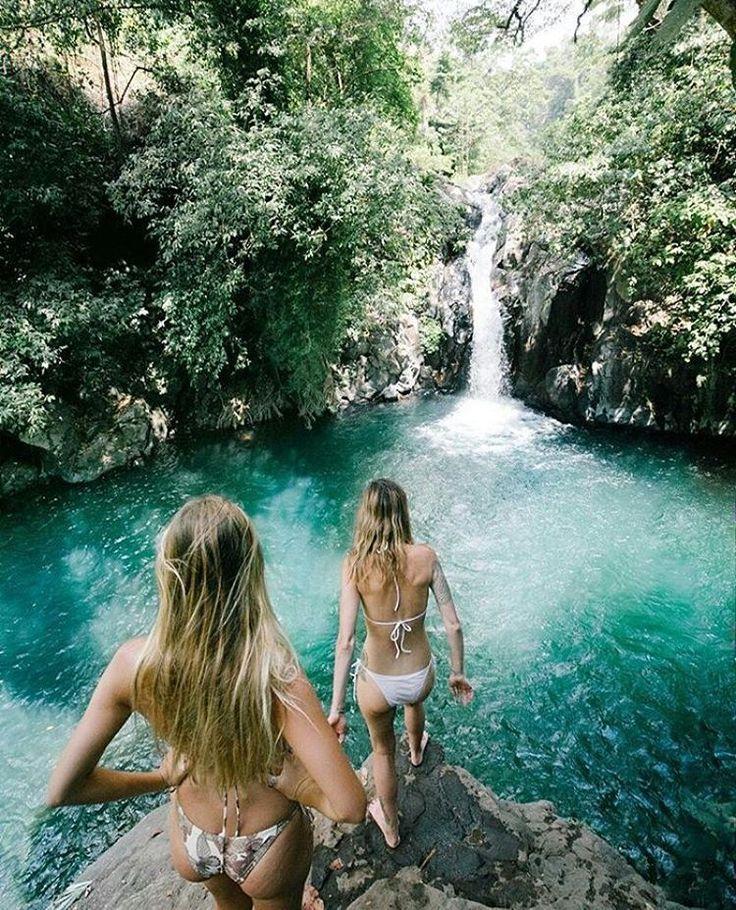 """""""K r o y a W a t e r f a l l Photo courtesy @jyetylr Photo location : Kroya Waterfall, Sambangan Village, Singaraja, Bali Sambangan Secret Garden is…"""""""