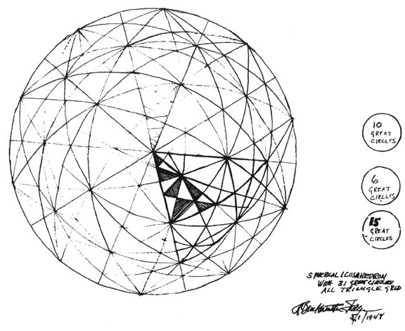 fuller tensegrity dome
