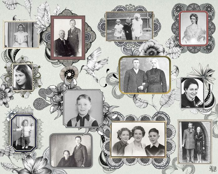 Customizable Photo Collage by AnnaLouis