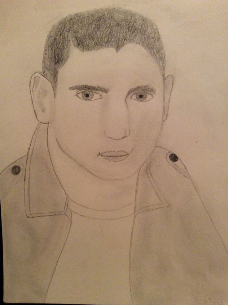 Michael Scofield (Wentworth Miller) from Prison Break