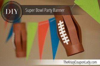 Easy DIY Football Party Banner