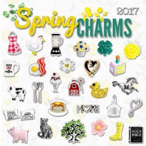 Spring 2017 Origami Owl Charms