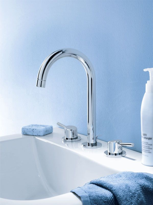 Grohe concetto 3 hole bathroom faucet bathroom basin - Grohe concetto shower ...