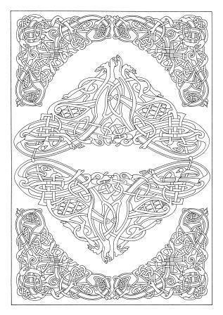 151 Best Images About IColor Celtic On Pinterest