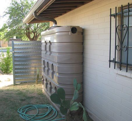 Rainwater Harvesting Systems & Water Tank Photos   Plastic Water Tanks