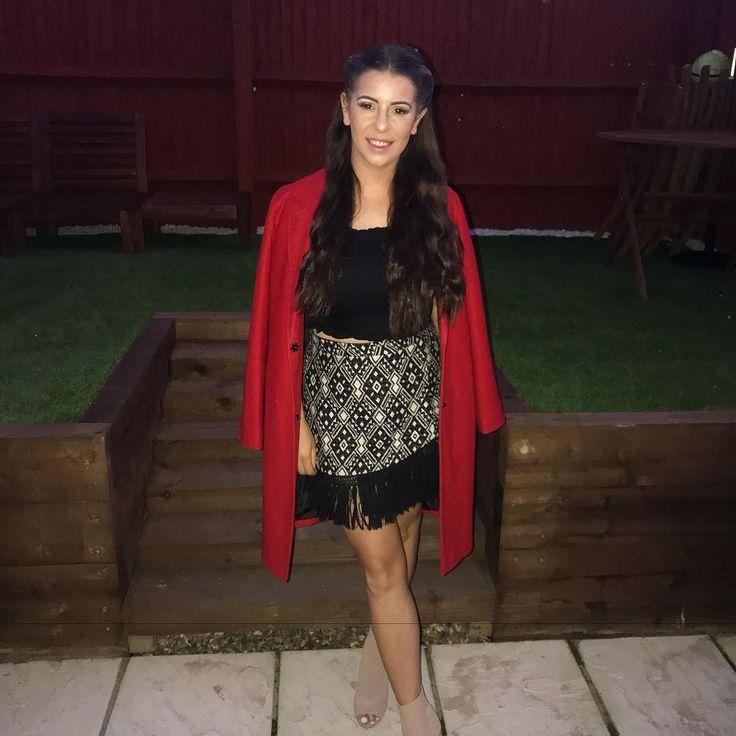 Loving my new very red @primark coat! Feeling very festive in October  #fashion #blogger #red #winterwardrobe