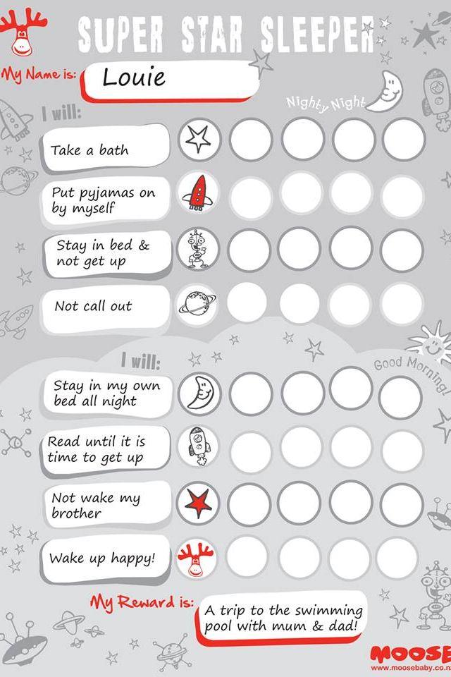 Sticker Chart idea - good for potty training, chores, etc