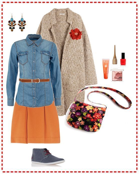 autumn look with hand made bag more my bag you can see here - www.livemaster.ru... and vk.com/club33348489