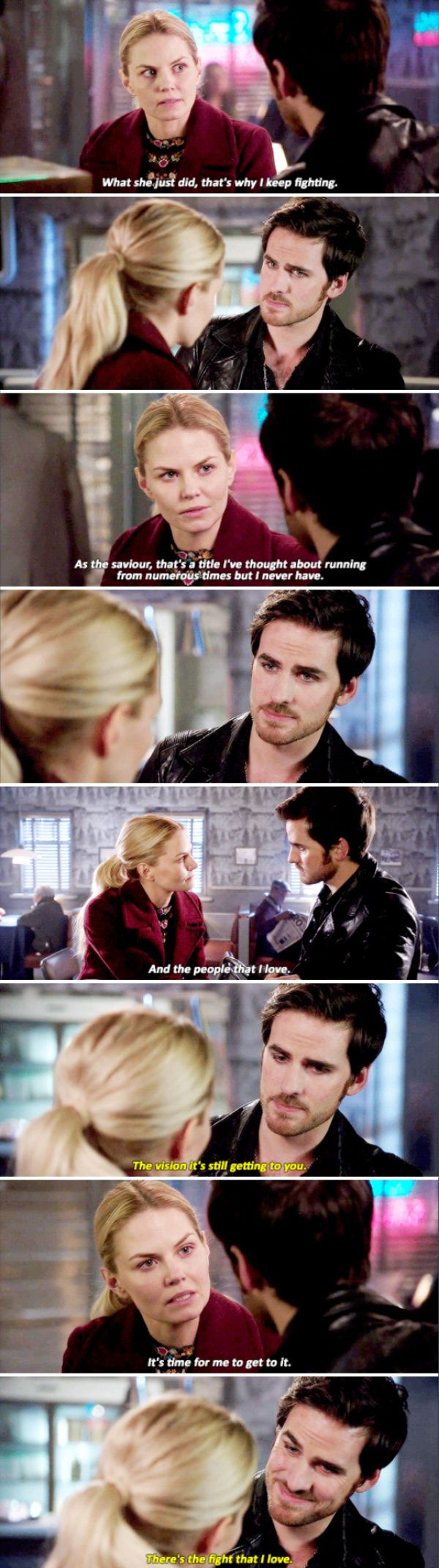 "Emma and Killian - 6 * 9 ""Changlings"" #CaptainSwan"