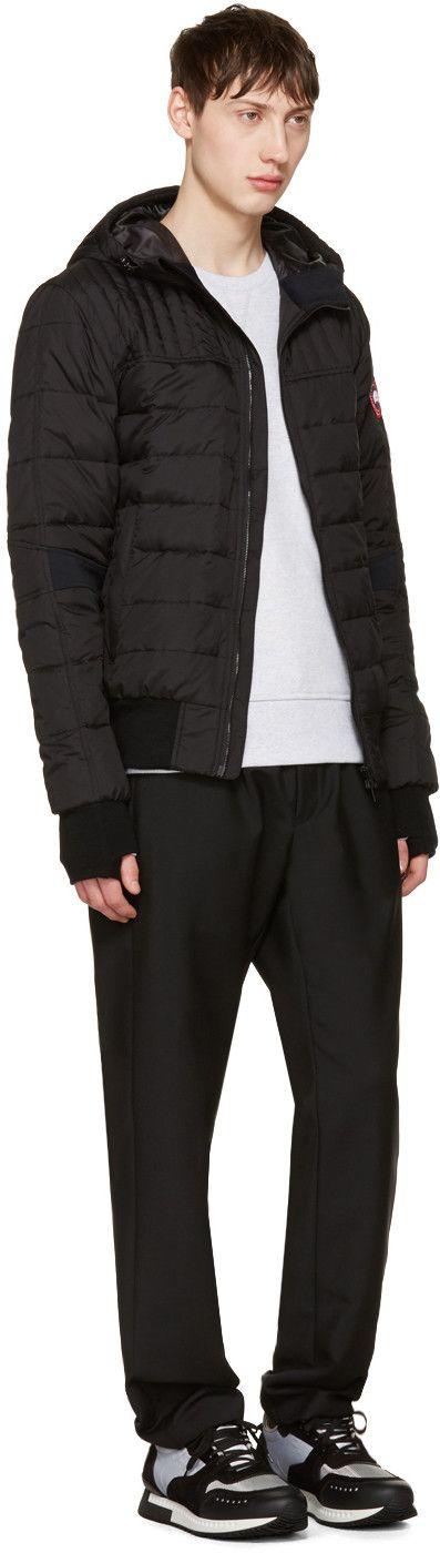 Canada Goose - Black Down Cabri Jacket