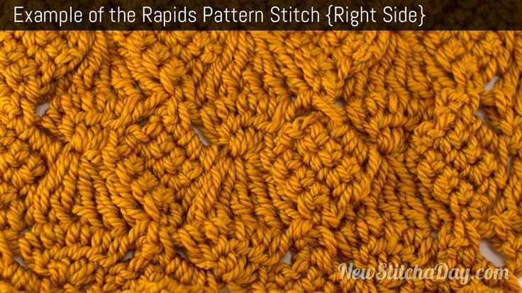 Crochet Stitch Ltr : knitting and crochet video tutorials linked treble crochet ltr crochet ...