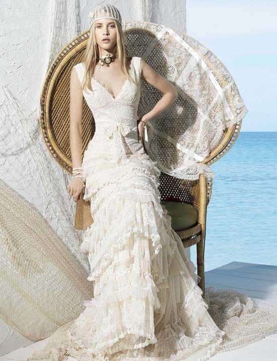 4a262f96c7 Vestido de novia yolan cris modelo togo  modelo  novia  vestido   vestidosdenoviamodelos  yolan