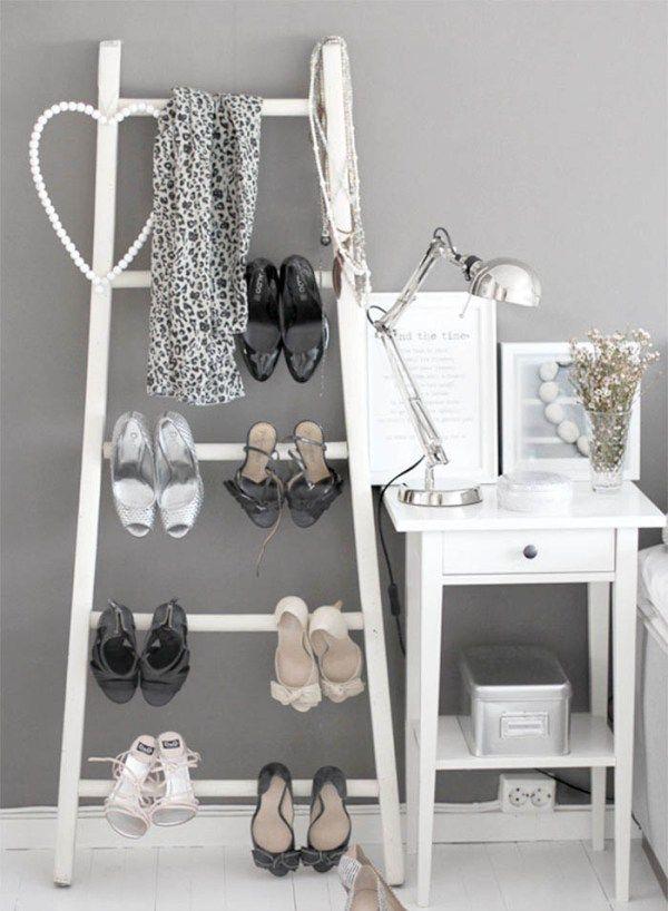 Die besten 25+ Leiter regal vintage Ideen auf Pinterest Leiter - blumenstander selber bauen alte holzleiter