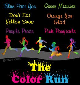 Team names for The Color Run