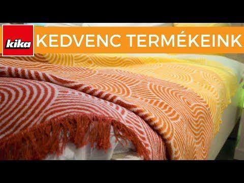 Kedvenc termékeink - Ágytakarók   Kika Magyarország - YouTube