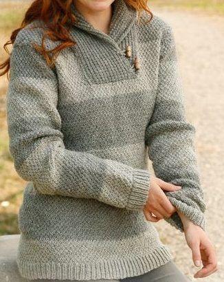 Padrão de tricô sem camisola Anna