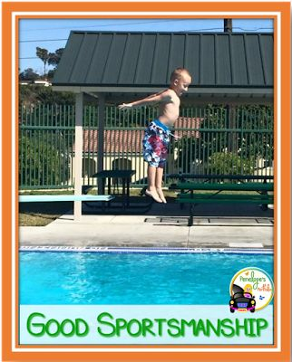 Kids love to have fun and play, and most kids love sports! Unfortunately, not every child has good sportsmanship skills, and it's our job as adults to model and teach these skills.  So here are some ways to get the ball rolling...http://www.penelopesportfolio.com/2017/09/7-steps-to-teaching-good-sportsmanship.html