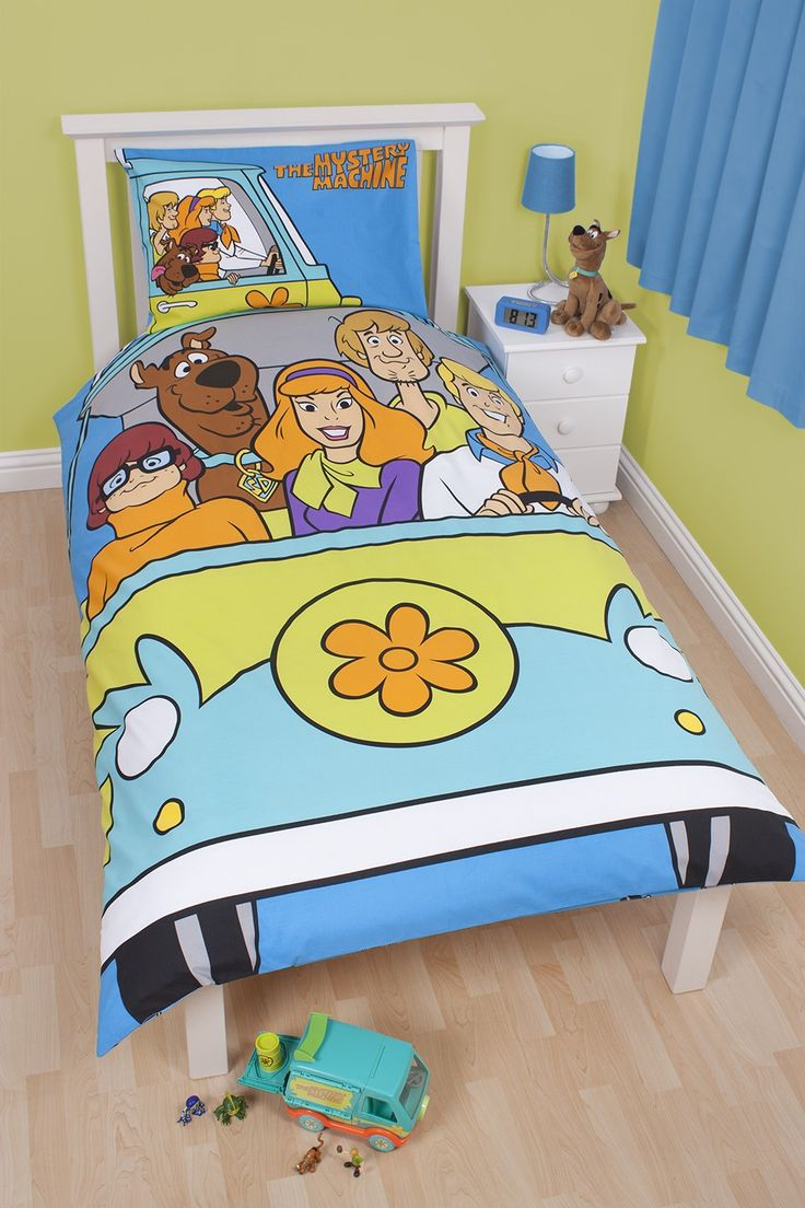 scooby doo scooby doo bedding mystery reversible single bed duvet
