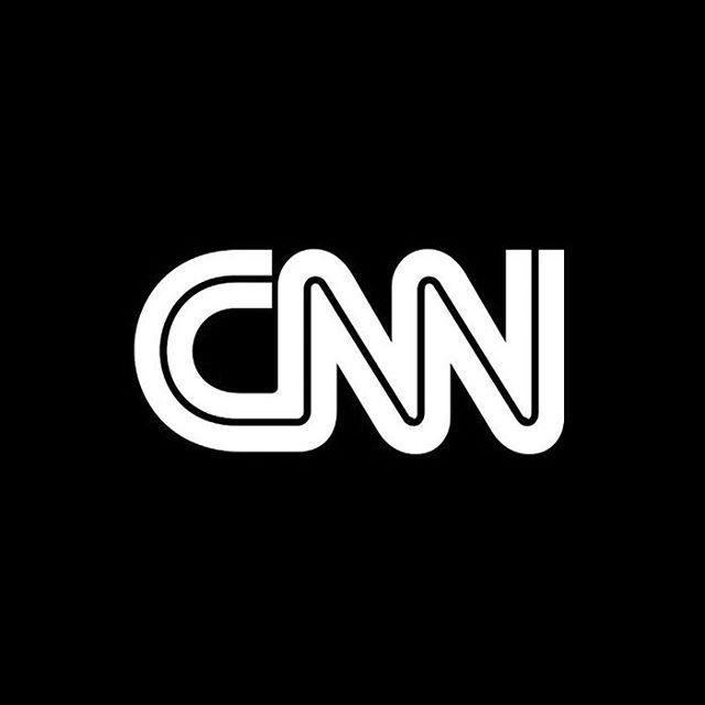 Cable News Network by Anthony Guy Bost. (circ.1980)  #logo #logotype #wordmark #inline #symbol #typography #wordmark #branding #brandidentity #geometric #modernism #monolinear #tv #blackandwhite #media #minimalism #broadcasting #design #1980s #trademark #cnn #logoarchive