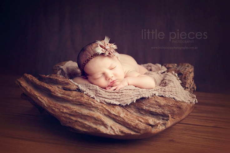 Photography props brown newborn tieback neutral photo prop baby halo newborn headband newborn prop brown baby halo brown tieback