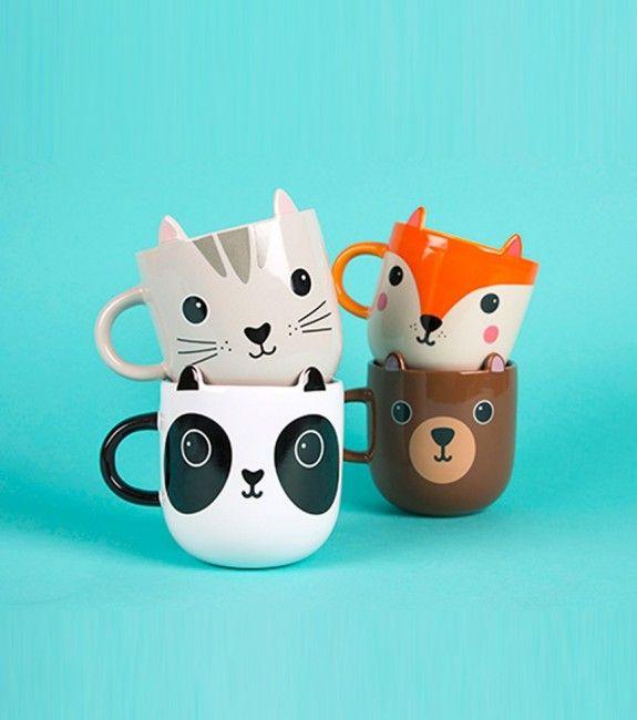 Mug kawaii animaux
