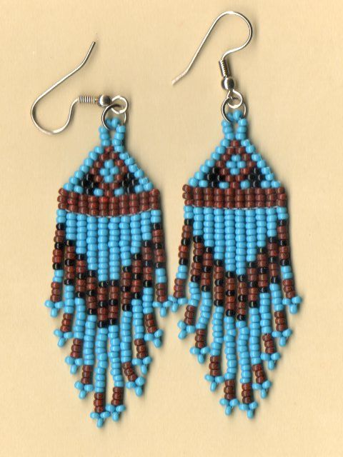 Native American Seed Bead Patterns | native american beaded earrings beaded jewelry reviews and compare ...