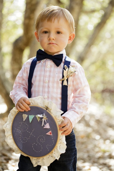 handsome little ring bearer @Jena McClendon Harrison (if you were to have a ring bearer I imagine him!)