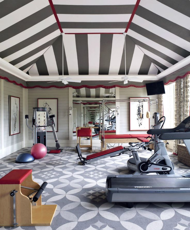Home Gym Room Design Ideas: 25+ Best Ideas About Home Gyms On Pinterest