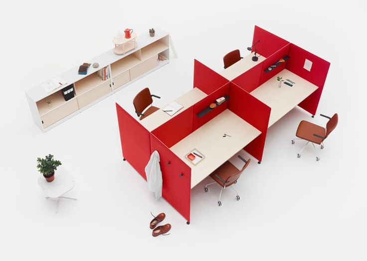 Partitions & Office chairs by Edsbyn