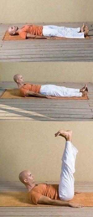 """Пять простых """"тибетских"""" упражнений, которые восстанавливают молодость, здоровье…"""